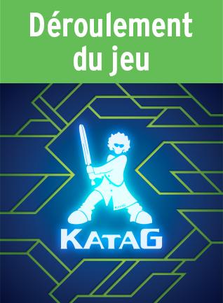 Déroulement du jeu (Katag Le jeu de cartes)