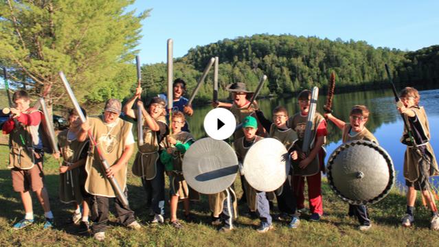 Vidéo Katag au camp de jour