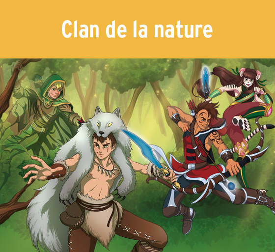 Clan de la nature (Katag Le jeu de cartes)