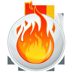 Logo Élément Feu Katag