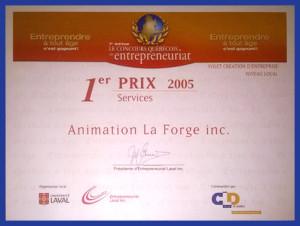 Prix 2005 Services Katag