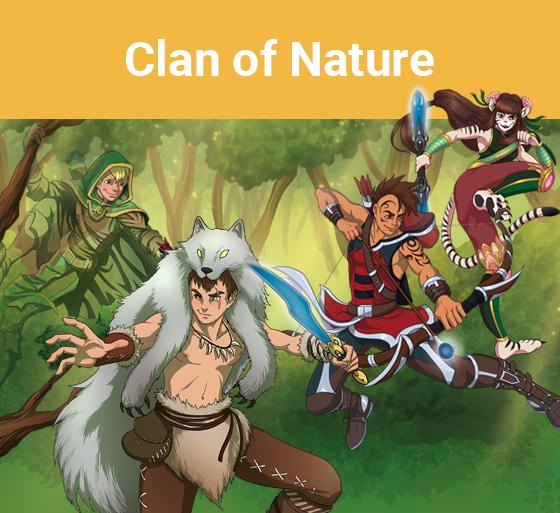 Clan de la nature (Katag Le jeu de cartes)