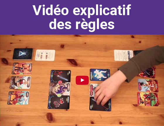 Vidéo explicatif des règles (Katag Le jeu de cartes)